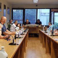 Συνάντηση του Σωματείου «Σπάρτακος» με τον Ευρωβουλευτή του ΣΥΡΙΖΑ Κώστα Αρβανίτη