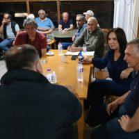 Επίσκεψη της Καλλιόπης Βέττα στα χωριά Τρανόβαλτο, Μικρόβαλτο, Ελάτη, Κρανίδια, Πλατανόρεμα, Καστανιά και Λάβα του Δήμου Σερβίων