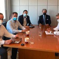 Συνάντηση Μελών της Διοίκησης του Επιμελητηρίου Κοζάνης με τον Συντονιστή του ΣΔΑΜ Κωσταντίνο Μουσουρούλη