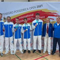 Τρία μετάλλια ο απολογισμός της συμμετοχής των αθλητών της Μακεδονικής Δύναμης Κοζάνης στο Podgorica open G1 international taekwondo championship